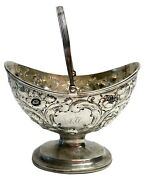 Ball Tompkins And Black New York American Coin Silver Repousse Basket C1840