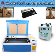 Dsp1060 100w Co2 Laser Cutting Machine Auto-focus Z Axis And Reci Tube Red Dot Usa