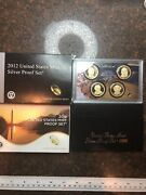 Sasa 2012-s And 1996 United States Mint Silver Proof Set With 2018 Proof Set