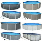 In Stock Steel Wall Above Ground Pool Kits Plus Charlieand039s Starter Package