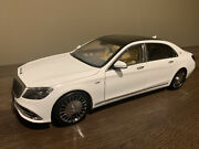 Almost Real 118 2019 Mercedes-benz Maybach S650 Diamond White Alm820111