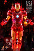 Figures-iron Man 2 Mark Iv - Movie Masterpiece 16 Holographic Collectable F New