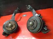 05 06 07 Ford Focus Rear Brake Knuckle Spindle With Trailing Arm Set Oem Non Abs