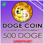 500 Doge + Bonus Doge Crypto Coins Mining Contract - Direct To Your Wallet