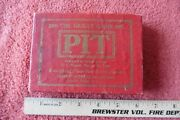 Vintage Pit Bull And Bear Edition Card Game 1904 Parker Brothers Original