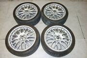 Jdm Bbs Rims Wheels 18x7.5 5x100 Made In Germany Bbs Cs5 Mags Tires