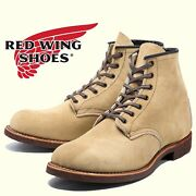 New Red Wing 2960 Blacksmith 6andrsquo Camel Round Toe Usa Menand039s 6.5 D Leather Boots