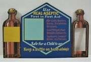 Vintage Heal Aseptic Kalasign Hvy Cardboard Store Display Sign And Product Box