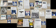 Lot Of 10 Games For Commodore Amiga With Manuals Disks