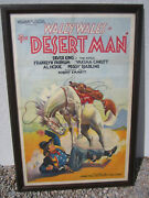 The Desert Man Imperial 1934 Wally Wales Original Western Movie Poster