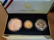National Law Enforcement Memorial And Museum 2021 Three-coin Proof Set