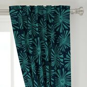Starburst Block Cactus Flower Mid Century 50 Wide Curtain Panel By Roostery