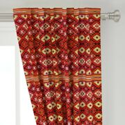 Navaho Rug Carpet Native American American 50 Wide Curtain Panel By Roostery