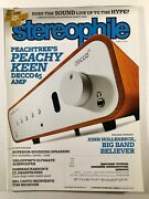 Stereophile Magazine March 2013 Peachtree Decco65 Amp Canalis Spendor Speakers