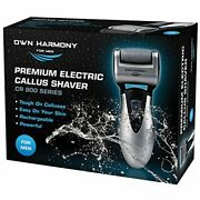 Harmony Electric Pedicure Tools Men Callus Remover Rechargeable New