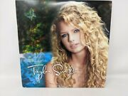 Taylor Swift By Taylor Swift Vinyl Record Double Lp 2008 Scratched Side A, As Is