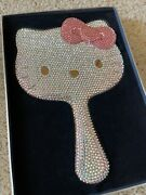 Hello Kitty Sephora Crystal-dipped Hand Mirror Made W/ Numbered 11/125
