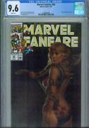 Marvel Fanfare 56 Cgc 9.6, 1991, Shanna Painted Cover
