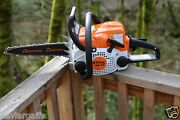 Piltz Conversion Ms180 Stihl 12 Inch Carving Saw Chainsaw 1/4 Pitch Timber Frame