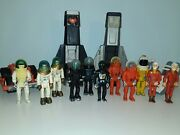 Fisher Price Adventure People Lot Vintage Clawtron Space Alpha Probe Firestar