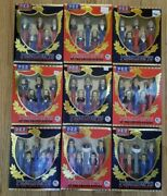 Pez Presidents Of The U.s. Complete Set 9 Volumes 45 Dispensers - Daily 1 Drop