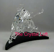 Limited Edition Crystal Bull Mint Condition Complete With Stand