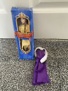 """Anastasia Hair Grow Doll 1997 8"""" Inch 20th Century Fox In Box Two Outfits"""