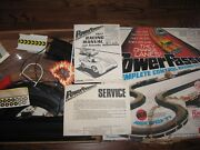 1977 Lionel Power Passers Complete Control Racing System Flaming Challenge Rare
