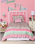 Twin Matilda Jane Lets Go Together Time For Bed In A Bag Quilt Set New