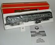 Mint O Scale Lionel Nyc New York Central Heavyweight Coach 2381 Passenger Car 19