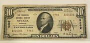 1929 Type 2 Thornton Nb Of Nevada Missouri 10 Banknote Currency Charter 9382