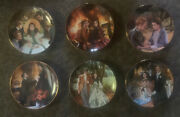 Gone With The Wind Collectible 12 Plate Set In Original Boxes By Ws George