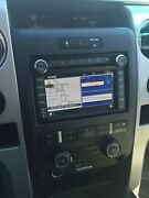 2009-2012 Ford F150 Oem Factory Navigation Radio With Hard Drive And Install Kit