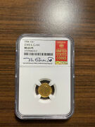 1904-p Lewis And Clark Gold Dollar Commemorative 1 Ngc Ms 63 Prooflike Pl Rare