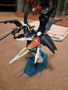 Bandai 1995 Gundam Deathscythe Hell 1/144 Mobile Suit Model Kit With Stand