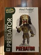 2017 Neca Predator Head Knockers Unmasked Jungle Hunter With Spear 2nd Edition