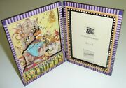 Vtg Mary Engelbreit Itand039s Good To Be Queen Picture Photo Frame 1990 Sunrise