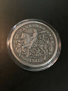 Durer's Knight - Silver Hobo Nickels - 5 Oz Antique Silver Proof Coin - Capsule