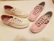Tretorn Tennis Shoes Sneakers 2 Pairs Canvas Size 7