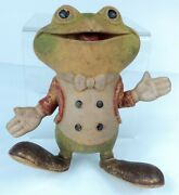 Vintage 1948 Rempel - Froggy The Gremlin - Squeaky Toy - Works