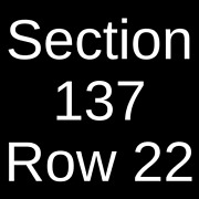 4 Tickets Dallas Cowboys @ New York Giants 12/19/21 East Rutherford Nj