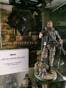 Gecco Metal Gear Solid 5 Phantom Pain Venom Snake 1/6 Statue And D-puppy