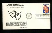 Us Fdc 2012 The Samuel Gompers Stamp Club 1982 New York Ny The Barrymores Music