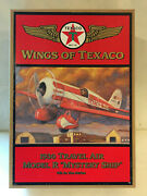 Wings Of Texaco 1930 Travel Air Model R Mystery Ship Airplane 5th Die Cast New
