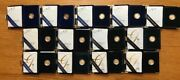 1996-2008 American Eagle 1/10 Oz Proof Gold Five Dollar Coin Collection With Coa