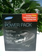 Samsung Micro Usb Power Pack, Headset, Travel And Vehicle Charger, Y-cable And Case