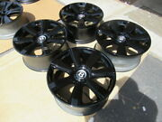 2013 To 2018 Bentley Continental Gt Oem Factory 21 Wheels Rims Gloss Black
