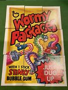 1973 Wacky Packages 4th Series Puzzle Non Graded 9 Cards 7 Great Condition 2 Not