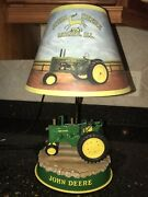John Deere Desk Lamp Tractor Base Farm Yard With Shade Light And Sounds