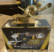 Marc Andre Fleury Diving Save Gold Statue Vegas Golden Knights Limited Edition